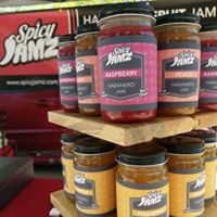 Spicy Jamz Stand at the Farmers' Market